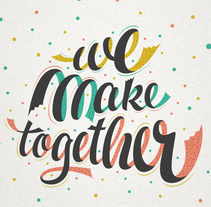 Etsy - We make together. A T, and pograph project by Martina Flor         - 19.10.2014