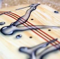 Skate Art. Um projeto de Design, Artesanato e Pintura de Mapi Bg         - 20.10.2014