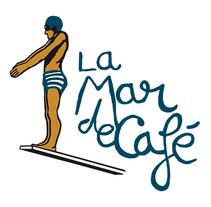 Logotipo para La Mar de Café . A Graphic Design&Illustration project by César Calavera Opi - Oct 22 2014 12:00 AM