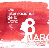 Cartel Día Internacional de la Mujer. A Design project by Pilar Escribano         - 26.10.2014