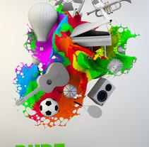 Pure Entertainment. Un proyecto de Diseño, Motion Graphics, 3D, Animación, Dirección de arte, Br, ing e Identidad y Diseño gráfico de Rubén Mir Sánchez         - 27.10.2014