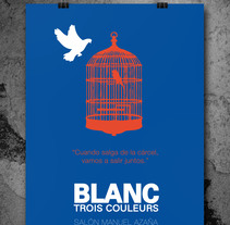 POSTER Trois Couleurs. A Graphic Design project by Evita          - 30.10.2014
