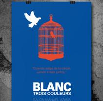 POSTER Trois Couleurs. Um projeto de Design gráfico de Evita         - 30.10.2014
