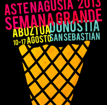 Semana Grande San Sebastián. A Graphic Design project by Jokin Fernández - 04-11-2014