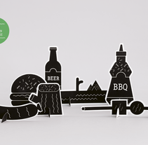 Barbacoa Mag. A Design&Illustration project by Stereoplastika  - Nov 06 2014 12:00 AM