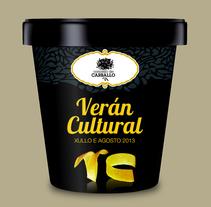 Verán Cultural. Um projeto de Publicidade e Design gráfico de Gende Estudio         - 06.11.2014