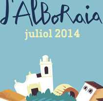 Festes d'Alboraia. A Design, Illustration, and Advertising project by LOCANDIA Estudio  - Nov 09 2014 12:00 AM