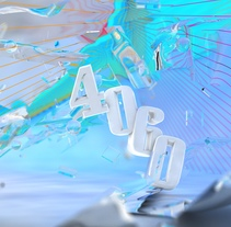 4060 cyanist. A Motion Graphics, 3D, and Art Direction project by Gaston Charles         - 11.11.2014
