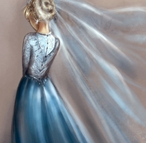 Velo de hielo. A Illustration project by Arbetta         - 17.11.2014