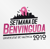 Setmana de Benvinguda 2010. A Graphic Design project by Raúl Salazar         - 18.11.2014