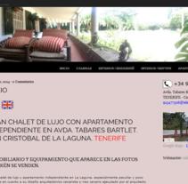 WordPress - Tenerife. A Photograph, and Web Design project by María Díaz-Llanos Lecuona         - 19.11.2014