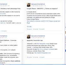 mis notas - facebook. A Writing project by María Díaz-Llanos Lecuona         - 19.11.2014