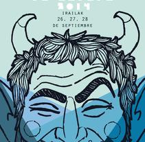 Jaietan izan deabru!. Un proyecto de Diseño, Ilustración y Diseño gráfico de Ainara Santiago Langarika         - 26.11.2014