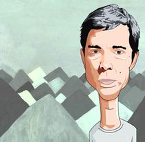 Bill Callahan para Más Truenos. A Illustration project by El Ciento Almacenes          - 04.12.2014