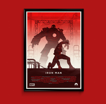 Iron Man. A Illustration, Film, Video, TV, and Graphic Design project by Eric Veiga Gullon         - 14.12.2014