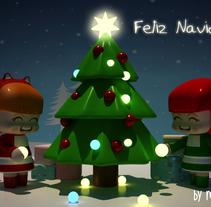 Feliz Navidad. Um projeto de 3D de monica perez         - 19.12.2014