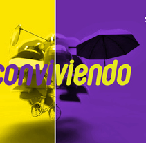 Programa Conviviendo TV.. Um projeto de Motion Graphics, Cinema, Vídeo e TV, Br, ing e Identidade e Design gráfico de Daniel  - 23-12-2014