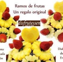 Curso de tallado de fruta y decoración con chocolate. Un proyecto de Cocina de DISFRUTESSEN, SL Alexandra Likini - 24-12-2014