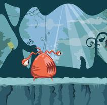 Concept Art Demo N. Un proyecto de Diseño, Ilustración, Animación, Bellas Artes y Diseño de juegos de Luis Gomariz - 29-12-2014