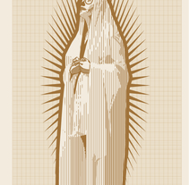 Virgen milimetrica. A Illustration project by Aitor Lubián Sánchez - Jan 02 2015 12:00 AM