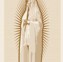 Virgen milimetrica. Un proyecto de Ilustración de Aitor Lubián Sánchez - 01-01-2015