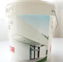 Diseño de envases. Cubos de pintura. Un proyecto de Diseño gráfico de Luis Muñoz Rodríguez         - 14.01.2012