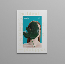 Oculto mag. Un proyecto de Dirección de arte, Diseño editorial y Diseño gráfico de Pablo Abad - Martes, 13 de enero de 2015 00:00:00 +0100