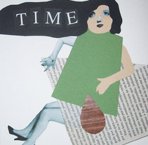 Time. A Illustration, Fine Art, and Collage project by Helena Pallarés         - 13.01.2015