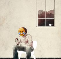 Redes sociales: historias mínimas. Un proyecto de Ilustración de Oscar Giménez - 14-01-2015