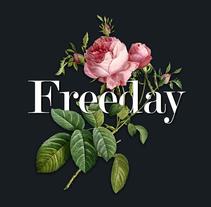 Freeday. Um projeto de Ilustração, Tipografia e Colagem de Natalia Escaño         - 15.01.2015