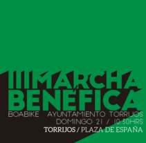III Marcha Benéfica Boabike Ayuntamiento de Torrijos. A Advertising, Events, and Graphic Design project by Alejandro González Cambero         - 17.01.2015