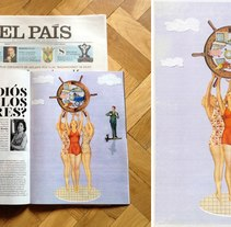 El Pais. A Illustration project by ANA  HIMES - 18-01-2015