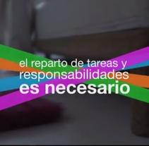 Vídeo Conciliación Mujer en Castilla-La Mancha. Un proyecto de Motion Graphics de César Martín Ibáñez  - 20-01-2015