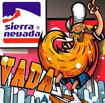 """Propuesta Campaña Publicidad Exterior """"Sierra Nevada"""". Um projeto de Ilustração, Publicidade, Direção de arte e Design gráfico de Carlos Parra Ruiz - 21-01-2015"""