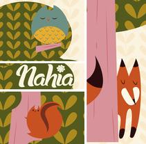 Medidor infantil. Por las ramas.. Un proyecto de Ilustración de Ainara Tavárez - 24-06-2014