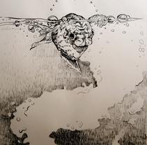 Del Revés. Un proyecto de Ilustración, Bellas Artes y Comic de AlabamaKiller Marta Castilla         - 03.09.2014