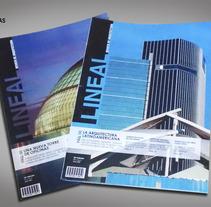 Diseño Editorial - Revista de arquitectura. Um projeto de Design editorial de María Belén Grieco         - 02.02.2015