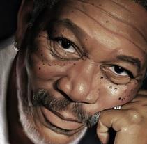 Morgan Freeman. Un proyecto de Bellas Artes de Adrián Durá Reina - 02-02-2015