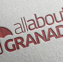 AllAboutGranada. A Br, ing, Identit, and Graphic Design project by Manuel Gago         - 02.02.2015
