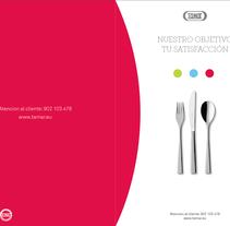 Tamar - Catering para colectividades - Identidad. Un proyecto de Diseño de César Martín Ibáñez  - 02-02-2015
