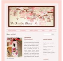 Blog DeChocolateBlanco. Un proyecto de Informática, Diseño de complementos, Artesanía, Diseño Web y Desarrollo Web de ALEJANDRO GIL GONZALEZ - 19-09-2014