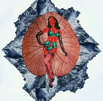 COMESTIBLES. A Illustration, Graphic Design, and Collage project by Malitzin Cortes         - 08.02.2015