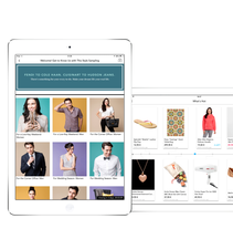 UI/UX Advising for a Fashion App. A UI / UX, Fashion, and Marketing project by Vanesa Andrés Manzano - 10-06-2014