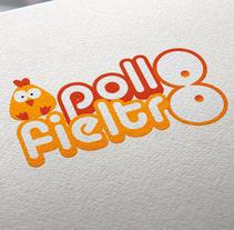 Pollo Fieltro. Um projeto de Design gráfico de Domingo Melero Pérez         - 14.02.2015