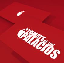 Tomate de los Palacios. Um projeto de Design gráfico de Domingo Melero Pérez         - 14.02.2015
