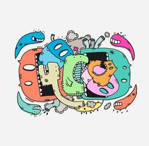 Bichos y aliens. Un proyecto de Ilustración, Dirección de arte y Diseño de personajes de Isaac González         - 19.02.2015