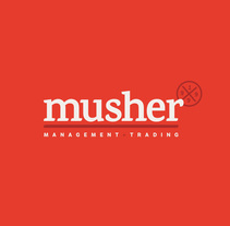 Musher. A Br, ing, Identit, and Graphic Design project by Crisiscreativa          - 24.01.2015