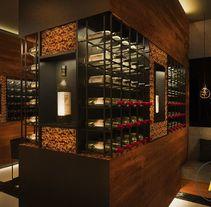 Restaurante. Un proyecto de Diseño, 3D, Arquitectura interior y Diseño de interiores de Acontraluz Studio  - 19-02-2015