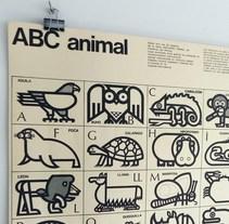 Fósforos del Pirineo Abecedario Animal posters. A Illustration, and Character Design project by  Cruz Novillo & Pepe Cruz          - 21.02.2015