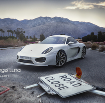 3D Porsche Cayman. A Illustration, and 3D project by Miguel Angel Luna Armada         - 19.02.2015